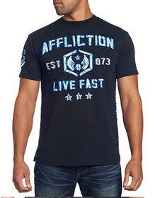 Affliction T-shirt - Affliction Foxhole Crewneck T-shirt