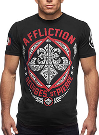 Affliction T-shirt - Affliction GSP Authority Crewneck T-shirt