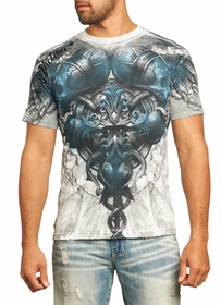 Affliction T-shirt - Affliction Last Fight Crewneck T-shirt