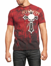 Affliction T-shirt - Affliction Prophet Crewneck T-shirt