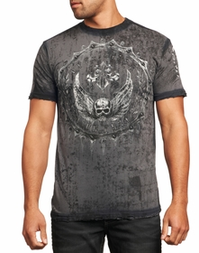 Affliction T-shirt - Affliction Rustproof Crewneck T-shirt