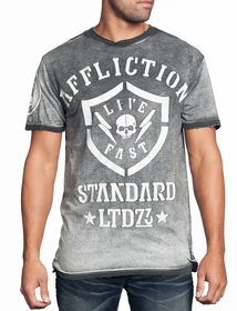 Affliction T-shirt - Affliction Stonewall Crewneck T-shirt