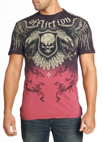 Affliction T-shirt - Affliction Suffer Crewneck T-shirt