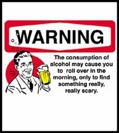 Alcohol Warning T-Shirt