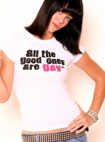 All The Good Ones Are Gay Girls Tee