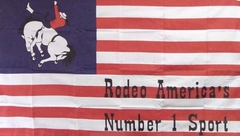 American Rodeo Flag