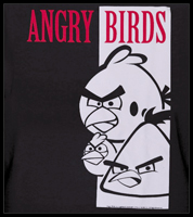"Angry Birds ""Bird Face"" T-Shirt"