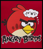 "Angry Birds ""Red Bird"" T-Shirt"