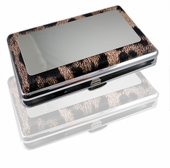 Animal Design Cigarette Case With Mirror (For Regulars and 100's)
