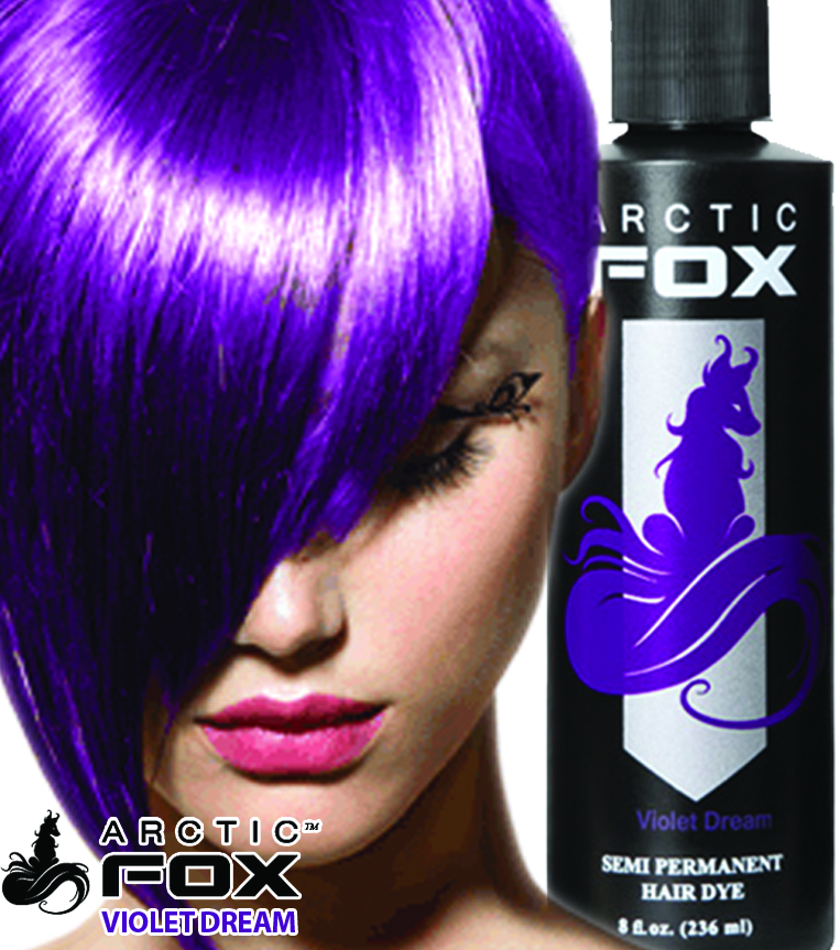 Violet Dream Arctic Fox Dye For A Cause Of Arctic Fox Hair ...