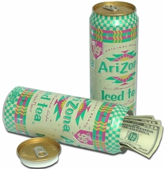 Arizona Iced Tea Diversion Can Safe