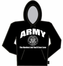 Army The Hardest Job Hoodie