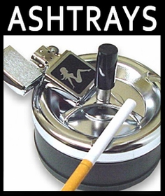 Ashtrays and Cigarette Snuffers :: Novelty and Spinning Ash Trays
