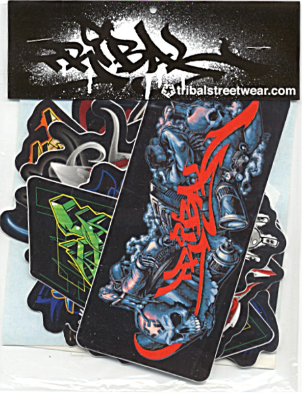 Assorted Tribal Gear Stickers Pack - Motorcycle tribal custom stickers designmotorcycle sticker tribal promotionshop for promotional