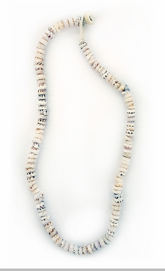 Authentic Tiger Puka Shell Necklace<!-- Click to Enlarge-->