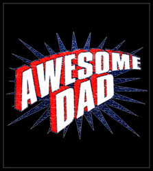 Awesome Dad Men's T-Shirt
