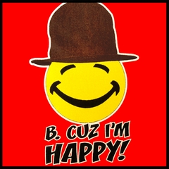 """B. Cuz I'm Happy""   Men's T-Shirt"
