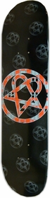 "BAM/Him ""Plaid Heartagram"" Skateboard Deck"