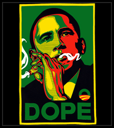 "Barack Obama ""DOPE"" Men's T-Shirt"