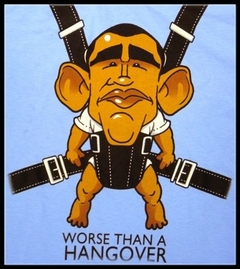 Barack Obama is Worse Than a Hangover T-Shirt