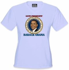 "Barack Obama ""Presidential Seal"" Girls T-Shirt"