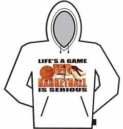 Basketball Is Serious Hoodie