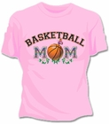 Basketball Mom Girls T-Shirt