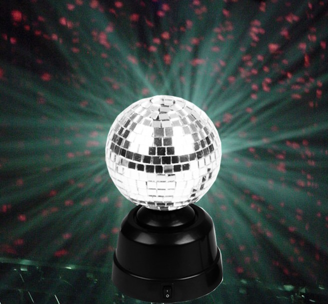 Lovely Battery Operated Mini Mirror Disco Ball