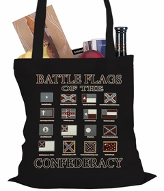 Battle Flags of the Confederacy Tote Bag