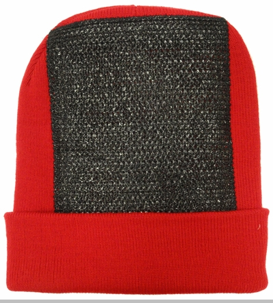 BBOY Break Dance Headspin Beanie (Red / Black)<!-- Click to Enlarge-->
