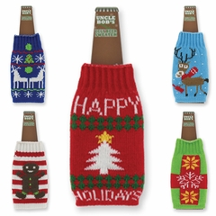 Beer Bottle Ugly Sweater - Ugly Beer Bottle Sweater (Assorted)