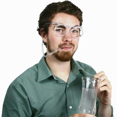 Beer Goggles - Drinking Straw Beer Goggle Glasses