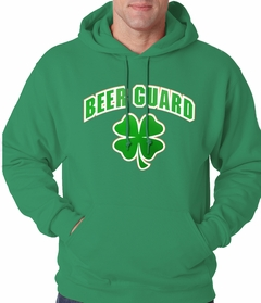 Beer Guard Irish Shamrock St. Patrick's Day Hoodie