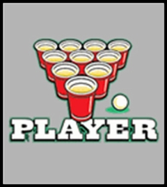 Beer Pong Player T-Shirt
