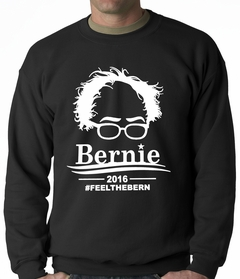 Bernie Sanders Face - Feel the Bern Adult Crewneck