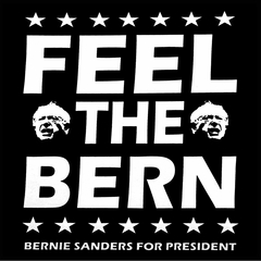 Bernie Sanders For President - Feel The Bern Mens T-shirt