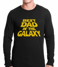 Best Dad in The Galaxy Thermal Shirt