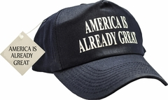 Bewild Brand - America Is Already Great Navy Blue Hat …
