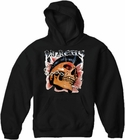 Biker Hoodies - Anarchy Men's Biker Hoodie (Black)