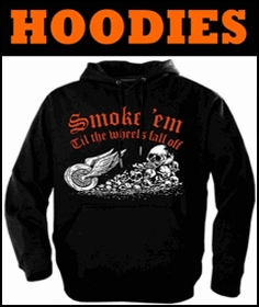 Biker Hoodies & Hooded Sweatshirts