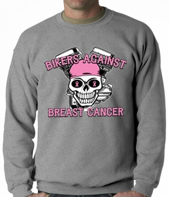 Bikers Against Breast Cancer Crewneck