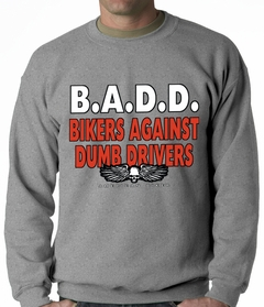 Bikers Against Dumb Drivers Crewneck