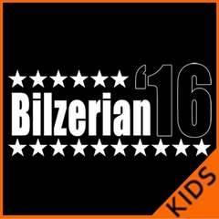 Bilzerian '16 - Vote For Bilzerian For President in 2016 Kids T-shirt
