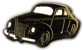 Black Car Lapel Pin