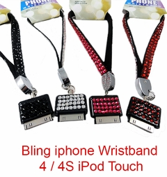 Bling iphone Wristband 4 / 4S / iPod Touch