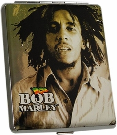 Bob Marley Collector's Series Cigarette Case (For Regular Size & 100's)