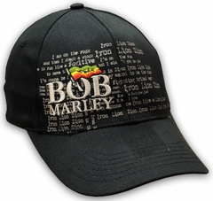 Bob Marley Iron Lion FlexFit Hat