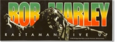 Bob Marley Live Up Sticker