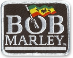 Bob Marley Logo Patch