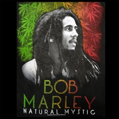 Bob Marley Natural Mystic Men's T-Shirt (Black)